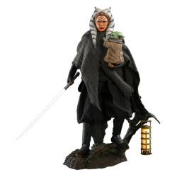 Ahsoka Tano and Grogu Hot Toys figures DX21 (Star Wars The Mandalorian)