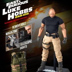 Figurine Luke Hobbs Beast Kingdom Dynamic Action Heroes (Fast and Furious)