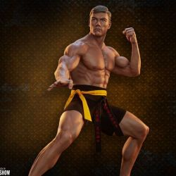 Statue Jean-Claude Van Damme Pop Culture Shock Shotokan Tribute (JCVD)