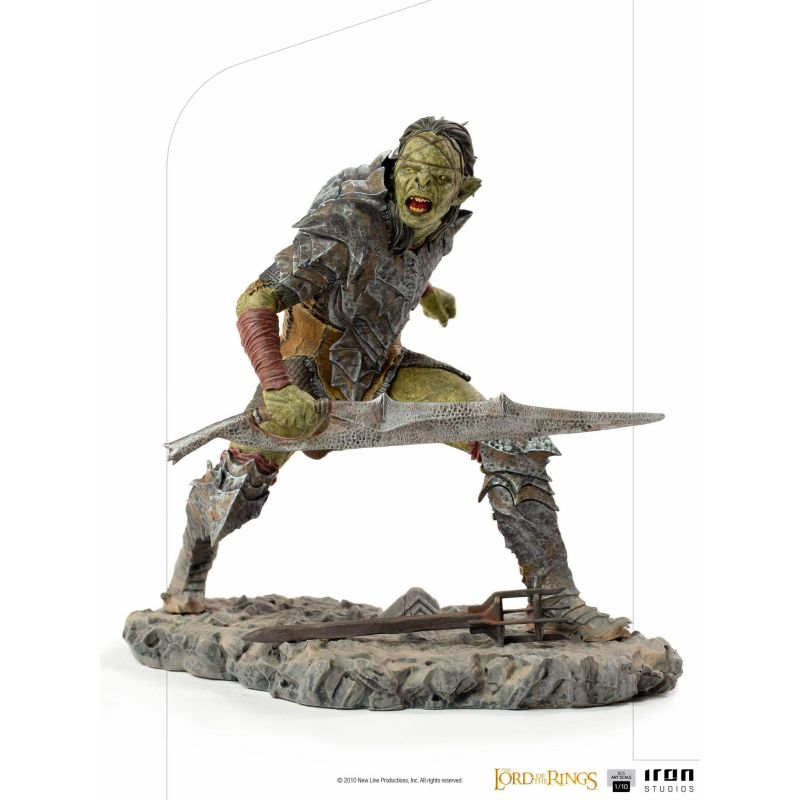 Swordsman Orc Iron Studios BDS Art Scale statue (The Lord of the Rings)