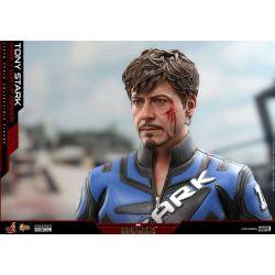 Figurine Tony Stark Hot Toys Mark V Suit Up MMS599 (Iron man 2)