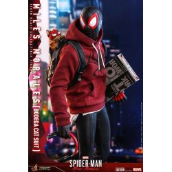 Miles Morales Hot Toys figure Bodega Cat Suit VGM50 (Spider-Man Miles Morales)