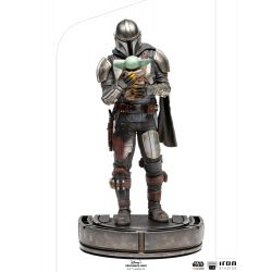 Statue The Mandalorian Iron Studios Art Scale (Star Wars The Mandalorian)