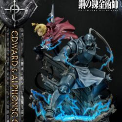 Statue Edward and Alphonse Elric Prime 1 (Fullmetal Alchemist)