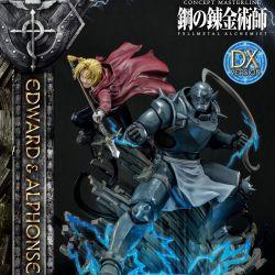 Statue Edward and Alphonse Elric Prime 1 Deluxe Version (Fullmetal Alchemist)