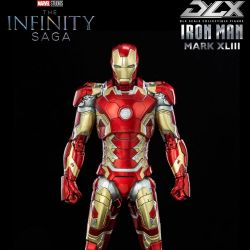 Iron Man Mark 43 ThreeZero figure DLX (Avengers Age of Ultron)