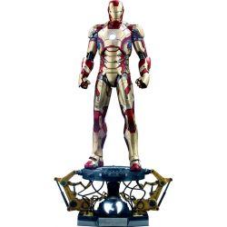 Iron Man Mark XLII Hot Toys figure Deluxe QS008 (Iron Man 3)