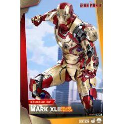 Figurine Iron Man Mark XLII Hot Toys Deluxe QS008 (Iron Man 3)