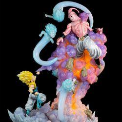 Gotenks vs Majin Buu Infinity Studio statue (Dragon Ball Z)
