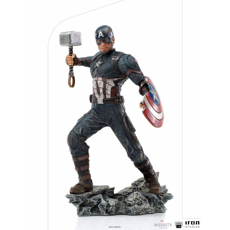 Captain America Iron Studios statue Ultimate (Infinity Saga)