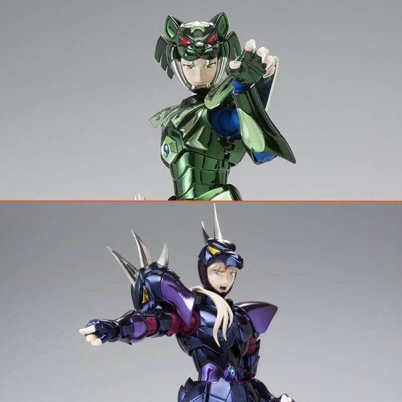 Pack Saint Cloth Myth EX Asgard Zeta and Alpha (Saint Seiya)