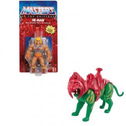 MOTU Origins He-Man Battle Cat pack (Masters of the Universe)