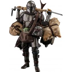 The Mandalorian and Grogu Hot Toys figures Deluxe TMS052 (Star Wars The Mandalorian)
