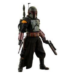 Boba Fett (repaint armor) Hot Toys figure TMS055 (Star Wars The Mandalorian)