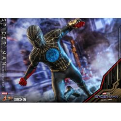 Spider-Man Black & Gold suit Hot Toys figure MMS604 (Spider-Man no way home)