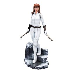 Black Widow (white costume) Kotobukiya ARTFX Premier statue (Marvel Comics)