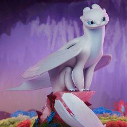 Light Fury Sideshow statue (Dragons)