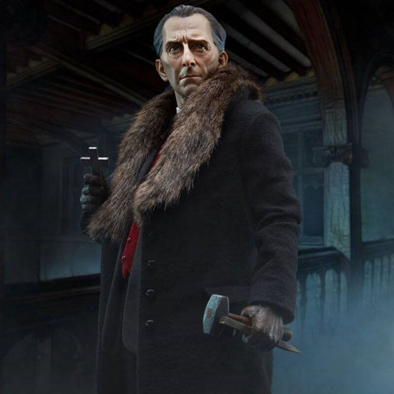 Van Helsing (Peter Cushing) Sideshow Premium Format statue (Dracula)