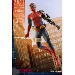 Spider-Man Cyborg Suit Hot Toys figure Toy Fair Exclusive VGM51 (Marvel's Spider-Man)