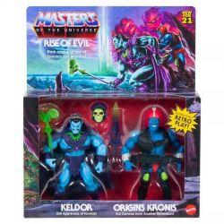 Figurines Keldor et Kronis Mattel MOTU Origins (Les Maîtres de l'Univers)