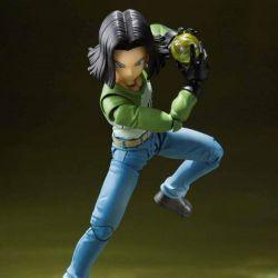 C17 SH Figuarts figurine Bandai (figurine Dragon Ball Super Universe Survival Saga)