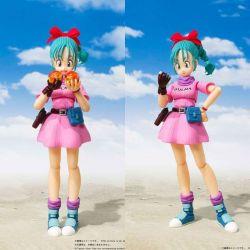 Bulma Adventure Begins robe rose figurine SH Figuarts (Dragon Ball)