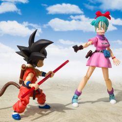 Bulma Adventure Begins pink dress SH Figuarts (Dragon Ball)