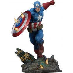 Captain America Sideshow Premium Format statue (Marvel)