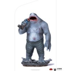 Statue King Shark Iron Studios BDS Art Scale (Suicide Squad)