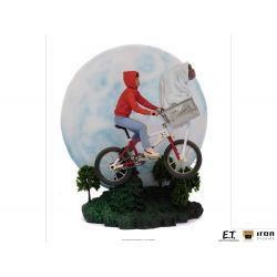 Figurines ET et Elliot Iron Studios Art Scale Deluxe (ET l'extra terrestre)