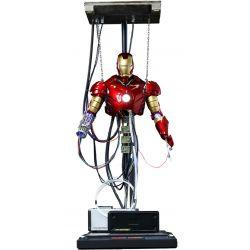 Figurine Iron Man Mark III Hot Toys Construction version DS003 (Iron Man)