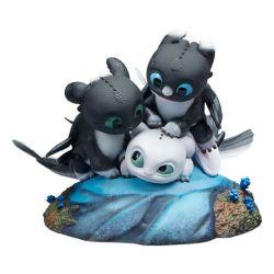 Figurines Flèche Pirouette et Vifagile Sideshow (Dragons 3)