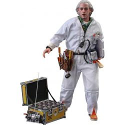 Doc Brown Hot Toys figure Deluxe MMS610 (Back to the future)
