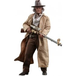 Doc Brown Hot Toys figure MMS617 (Back to the futur 3)