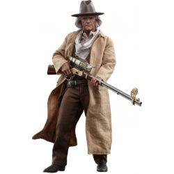 Figurine Doc Brown Hot Toys MMS617 (Retour vers le futur 3)