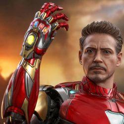 Hot Toys Iron Man Mark LXXXV 85 MMS528D30 Headsculpt V2 1/6 (Avengers : Endgame)