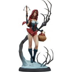 Chaperon Rouge statue Fairytale Fantasies Collection Sideshow (Red Riding Hood)