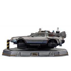 DeLorean Iron Studios Art Scale (réplique Retour vers le futur 2)
