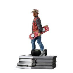 Marty McFly figurine Art Scale Iron Studios (Retour vers le futur 2)