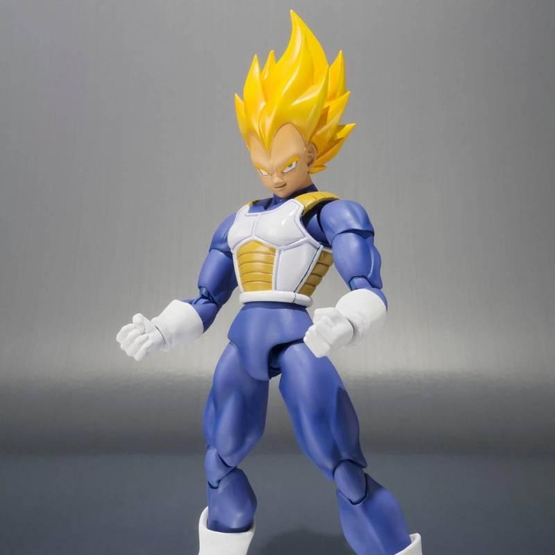 Dragon Ball Z Super Saiyan Vegeta Premium Colour SH S.H Figuarts WEB EXCLUSIVE