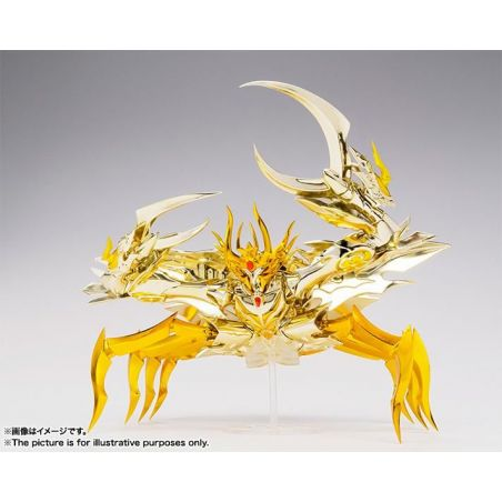 Myth Cloth EX Deathmask du Cancer figurine articulée (Saint Seiya Soul of Gold)