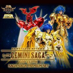 Myth Cloth EX Gémeaux Saga Saga Premium Set (Saint Seiya)