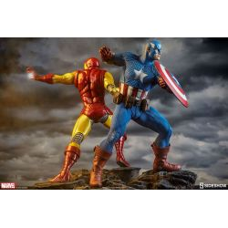 Captain America Avengers Assemble Statue Sideshow Collectibles figurine 1/5 (Marvel Comics)