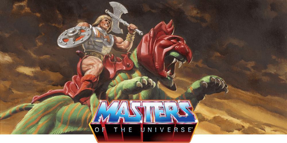 MOTU Masters of the universe figures