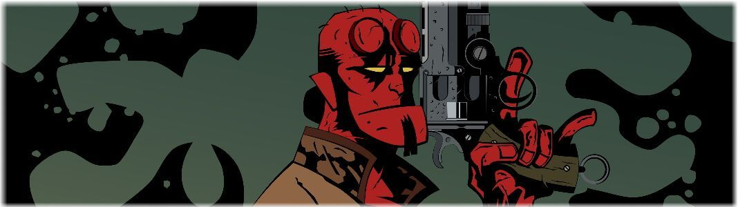 Hellboy figures and statues