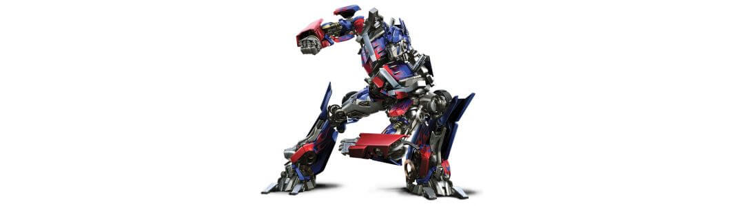 Transformers figures and statues