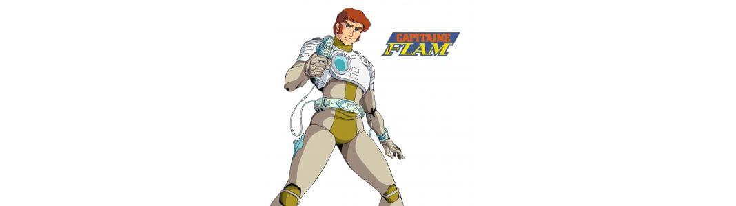 Capitaine Flam, figurines et répliques : achat en ligne